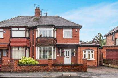 3 Bedrooms Semi Detached House for sale in Wigsby Avenue, Manchester, Greater Manchester, Moston