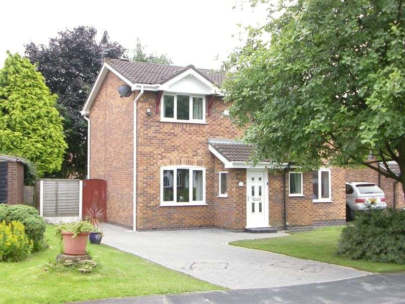 2 Bedrooms Semi Detached House for sale in WILMSLOW (TURNBERRY DRIVE)