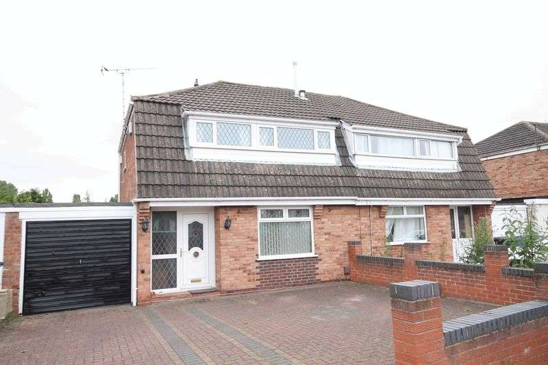 3 Bedrooms Semi Detached House for sale in BRIAR LEA CLOSE, SINFIN