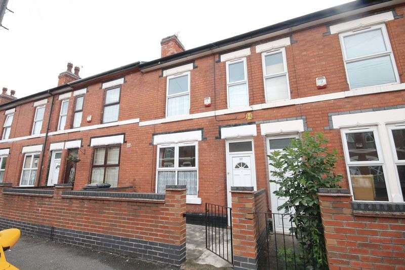 3 Bedrooms Terraced House for sale in OLIVIER STREET, DERBY