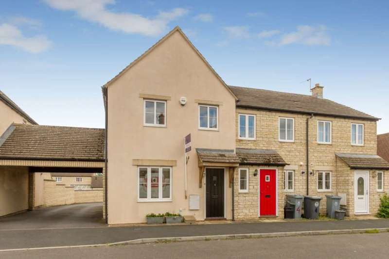 3 Bedrooms End Of Terrace House for sale in Woodrush Gardens, Shilton Park