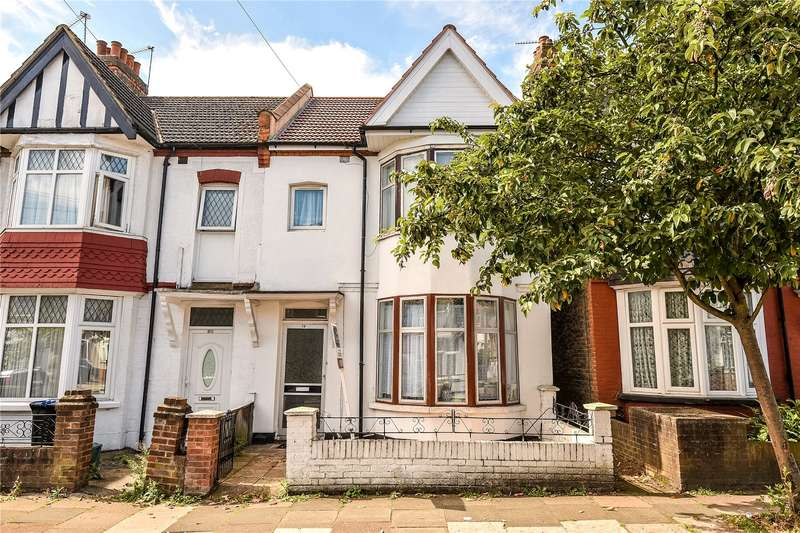 4 Bedrooms Terraced House for sale in Rosebank Avenue, Wembley, Middlesex, HA0