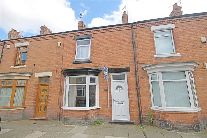 2 Bedrooms Terraced House for sale in Aysgarth Road, Darlington, Co Durham, DL1