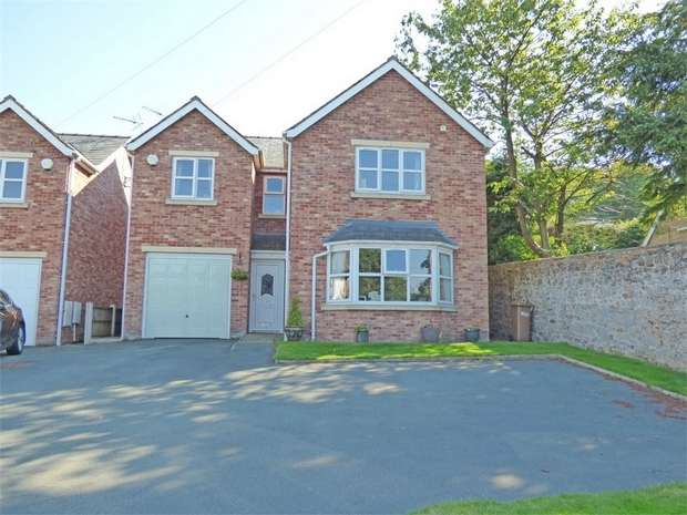 4 Bedrooms Detached House for sale in Holway Road, Holywell, Flintshire
