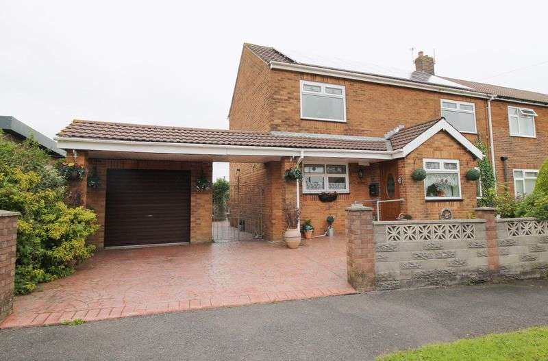 3 Bedrooms Semi Detached House for sale in Birchgrove, Llanharry, CF72 9HY