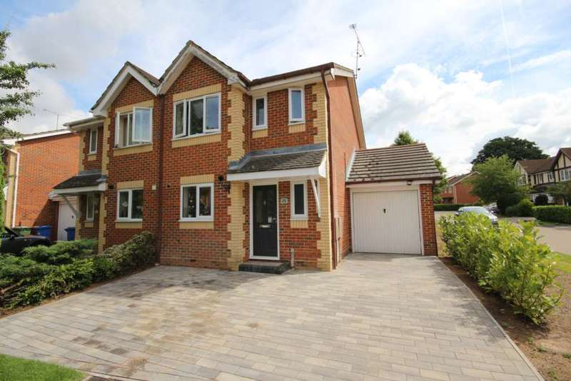 3 Bedrooms Semi Detached House for sale in Burnt House Gardens, Warfield