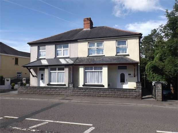 3 Bedrooms Semi Detached House for sale in Ammanford Road, Llandybie, Ammanford, Carmarthenshire