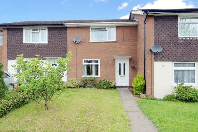2 Bedrooms Terraced House for sale in Haughton Close, Bridgnorth