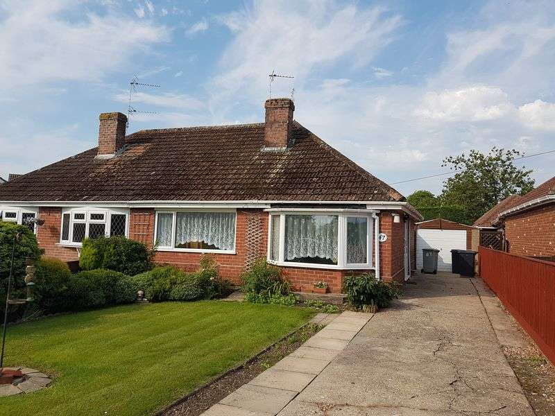 2 Bedrooms Semi Detached Bungalow for sale in Station Road, Burgh Le Marsh, Skegness
