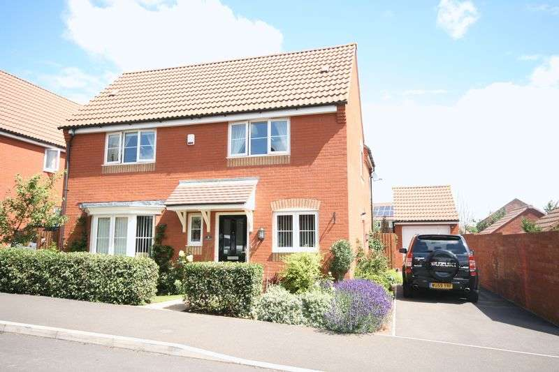4 Bedrooms Detached House for sale in Lotus Drive, Bridgwater