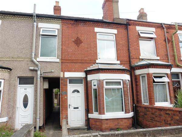 2 Bedrooms Terraced House for sale in Queens Road North, Eastwood, Nottingham