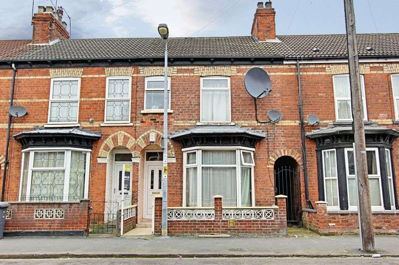 3 Bedrooms Terraced House for sale in Belvoir Street, Hull