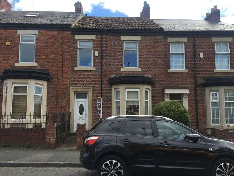 3 Bedrooms Terraced House for sale in Croft Terrace, Jarrow