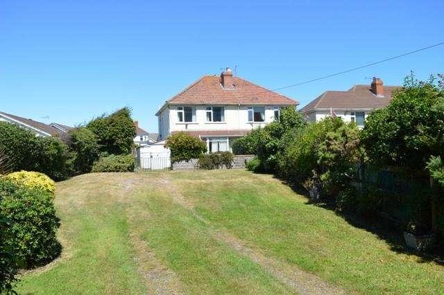 3 Bedrooms Semi Detached House for sale in Crookes Lane, Kewstoke, Weston-super-Mare