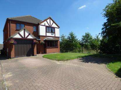4 Bedrooms Detached House for sale in Broughton Road, Croft, Leicester, Leicestershire