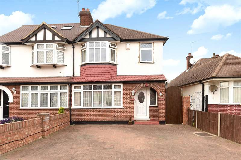 3 Bedrooms Semi Detached House for sale in Diamond Road, South Ruislip, Middlesex, HA4