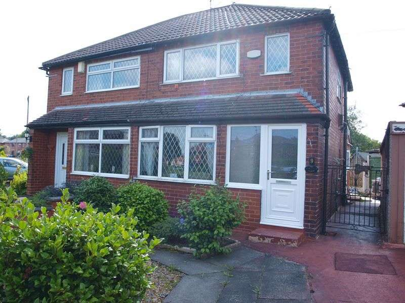 2 Bedrooms Semi Detached House for sale in Heatley Road, Firgrove, OL16 4BE