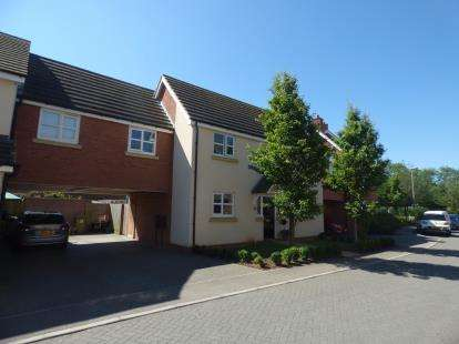 4 Bedrooms Link Detached House for sale in Llewellyn Chase, Old Wolverton, Milton Keynes