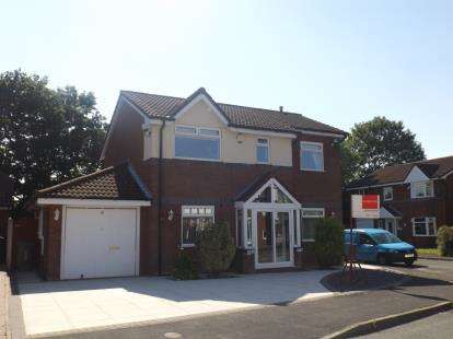 4 Bedrooms Detached House for sale in Langfield, Lowton, Warrington, Greater Manchester