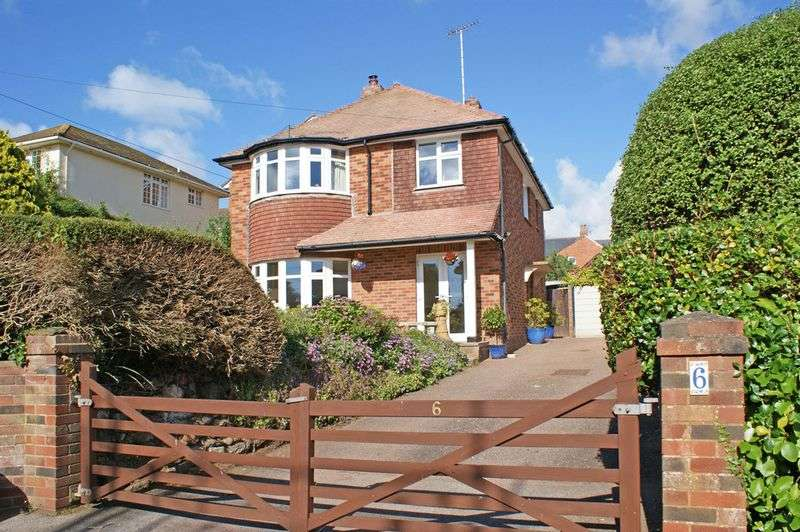 3 Bedrooms Detached House for sale in Cliff Road, Budleigh Salterton