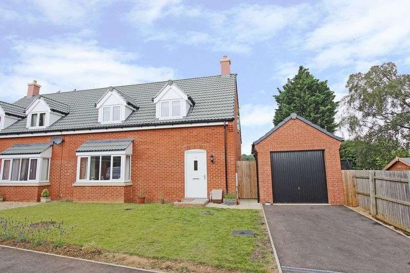 4 Bedrooms Semi Detached House for sale in Pulford Close, Thurlby