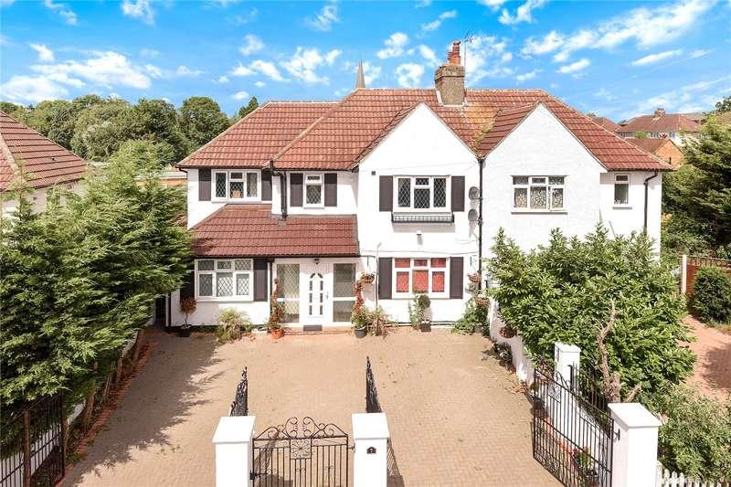 7 Bedrooms Semi Detached House for sale in Manor Waye, Uxbridge, Middlesex, UB8