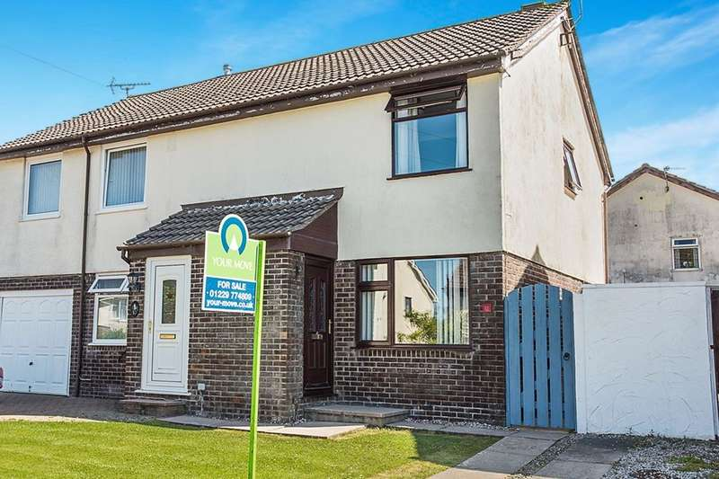 2 Bedrooms Semi Detached House for sale in Mountbatten Way, Millom, LA18