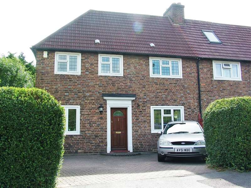 3 Bedrooms End Of Terrace House for sale in Culvers Way, Carshalton, Surrey, SM5 2LS