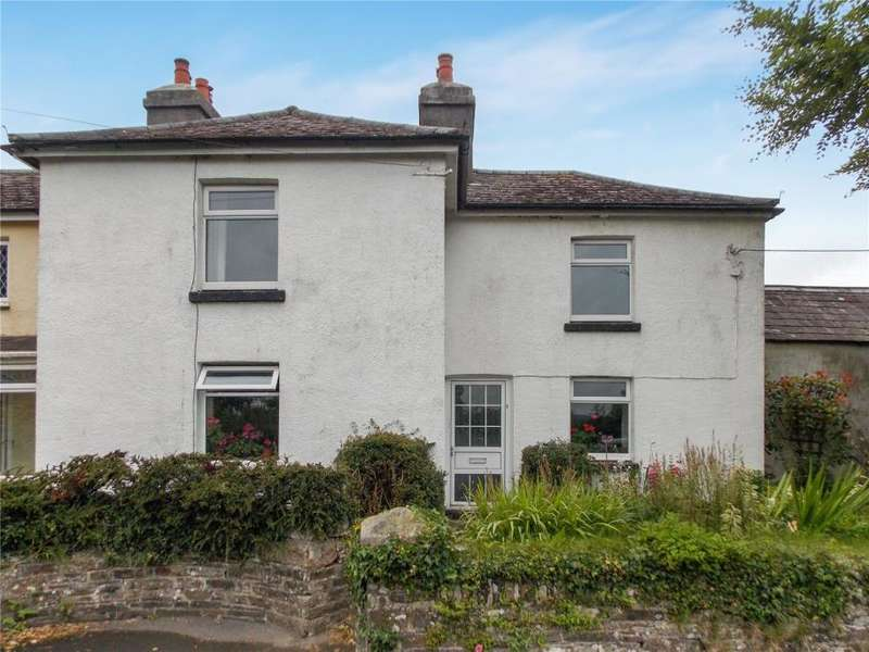 4 Bedrooms Semi Detached House for sale in Cross Roads Cottages, Cross Road, Lewdown