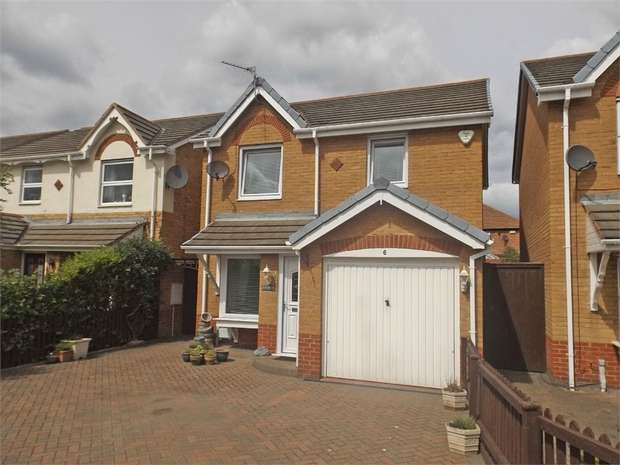 3 Bedrooms Detached House for sale in Althorp, Redcar, North Yorkshire