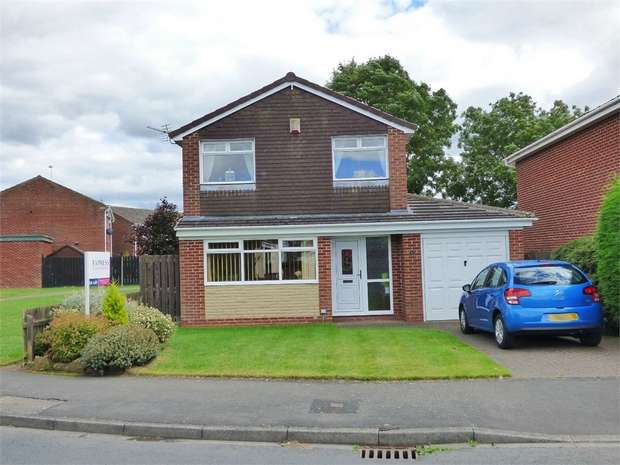 3 Bedrooms Detached House for sale in Linburn Drive, Bishop Auckland, Durham