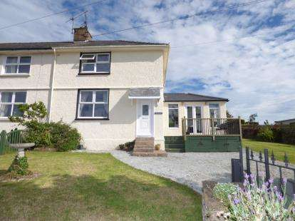 3 Bedrooms End Of Terrace House for sale in Salem Street, Bryngwran, Holyhead, Sir Ynys Mon, LL65