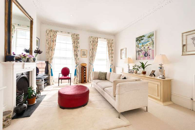 2 Bedrooms Maisonette Flat for sale in Alderney Street, Pimlico, SW1V