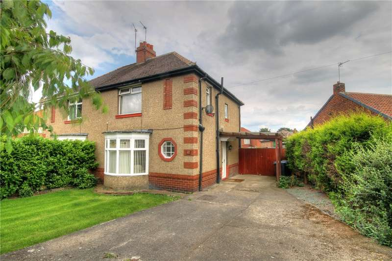 2 Bedrooms Semi Detached House for sale in St Cuthberts Avenue, Holmlands Park, Chester le Street, DH3
