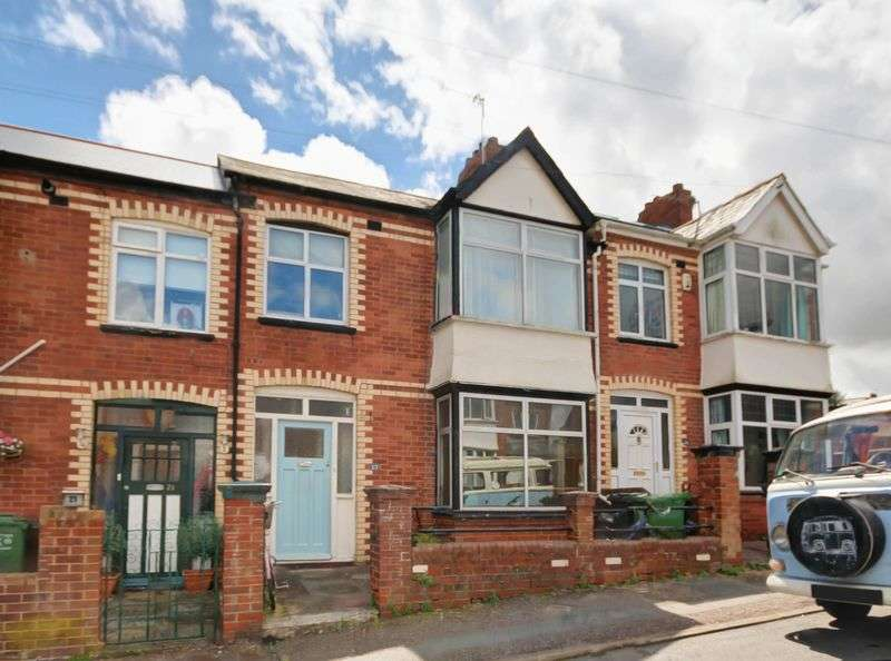 3 Bedrooms Terraced House for sale in Lower Avenue, Exeter