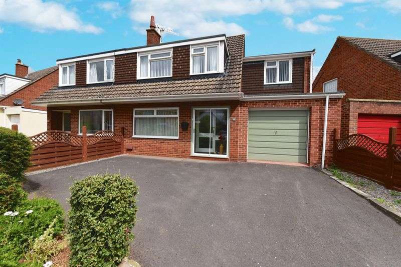 4 Bedrooms Semi Detached House for sale in Holford Road, Bridgwater