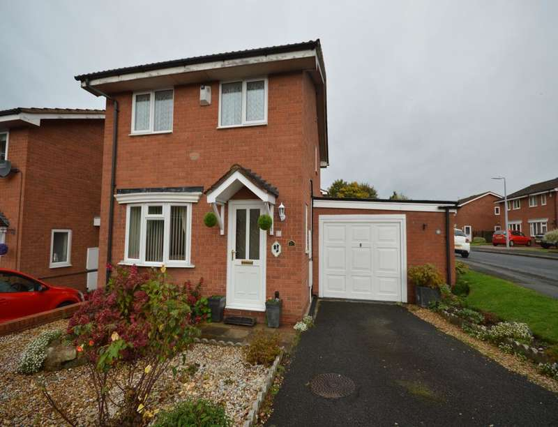 3 Bedrooms Detached House for sale in Grovefields, Leegomery, Telford, TF1