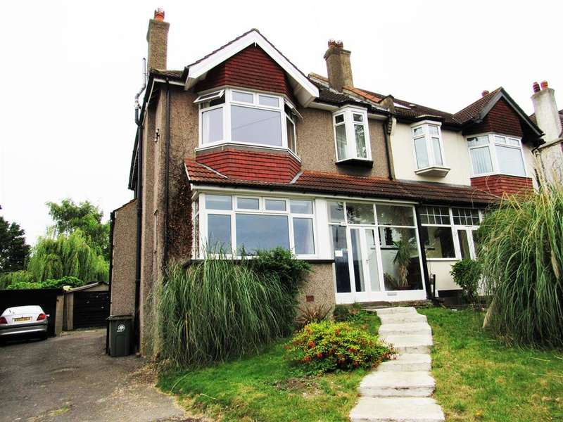 4 Bedrooms Semi Detached House for sale in Stanley Park Road, Carshalton, SM5 3HT