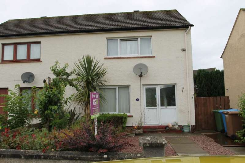 2 Bedrooms Semi Detached House for sale in Househill Terrace, Nairn