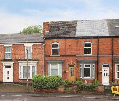 4 Bedrooms Terraced House for sale in Albert Road, Sheffield, South Yorkshire