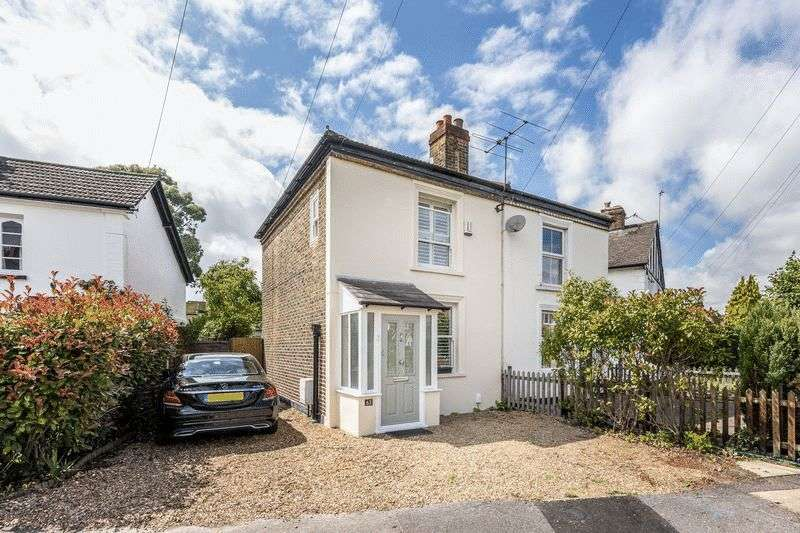 2 Bedrooms Semi Detached House for sale in Rushett Close, Thames Ditton, KT7