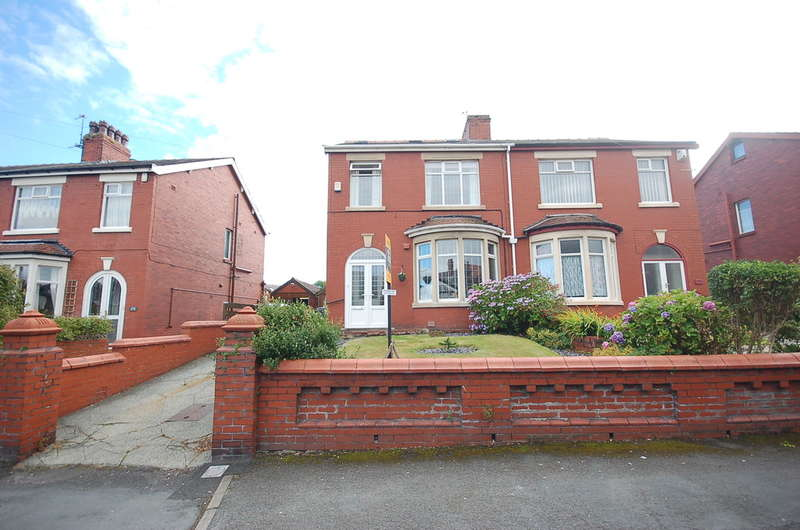 4 Bedrooms Semi Detached House for sale in Preston Old Road, Blackpool