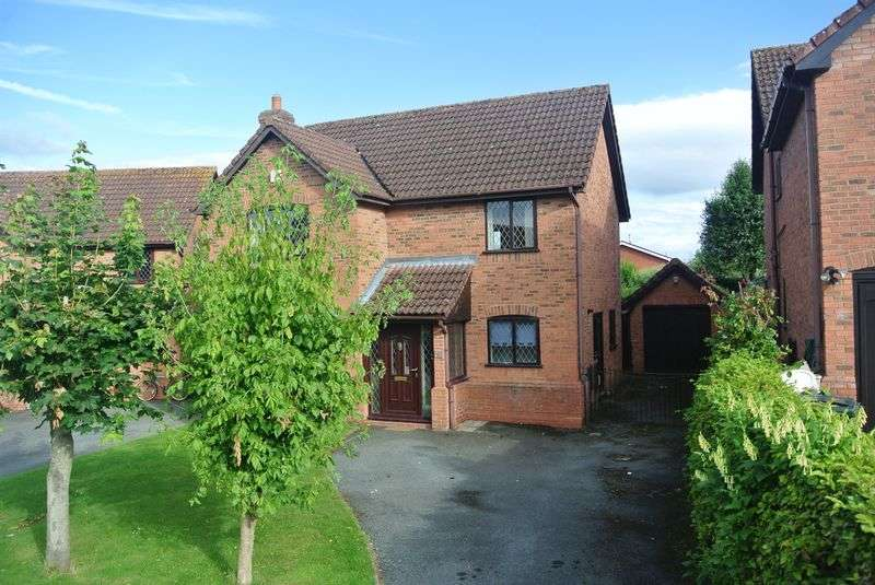 4 Bedrooms Detached House for sale in The Paddock, Much Wenlock, Shropshire.
