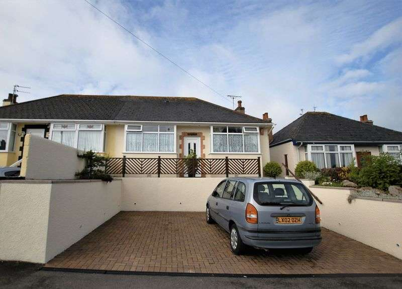 2 Bedrooms Semi Detached Bungalow for sale in Callington Road, Saltash
