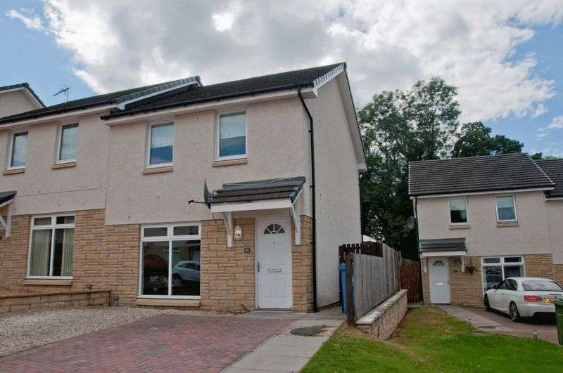 2 Bedrooms Semi Detached House for sale in 26 Benbuck View, Coalsnaughton