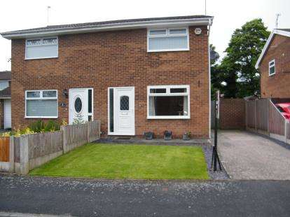 2 Bedrooms Semi Detached House for sale in York Drive, Winsford, Cheshire, CW7