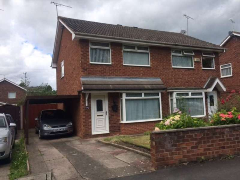 3 Bedrooms Semi Detached House for sale in Claremont Avenue, Sealand, Deeside, CH5 2SN.