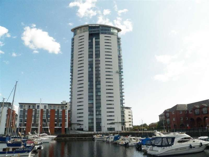 1 Bedroom Flat for sale in Meridian Tower, Trawler Road, Maritime Quarter