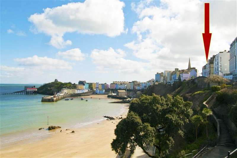 3 Bedrooms Flat for sale in 6 High Street, Tenby