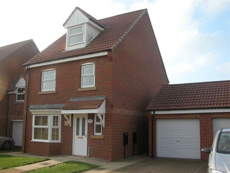 4 Bedrooms Property for sale in Swallow Close, HORNSEA, East Yorkshire